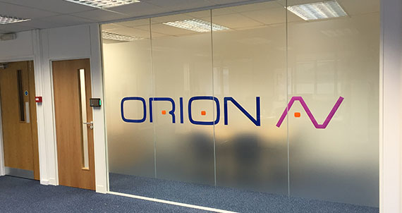 Company logos and special designs can be incorporated into manifestation & Glass Partitions Hertfordshire (Herts) and Glass Partitioning